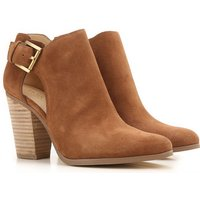 Michael Kors Boots for Women, Booties On Sale, Caramel, Suede leather, 2017, 2.5 4 4.5 5