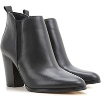 Michael Kors Boots for Women, Booties On Sale, Black, Leather, 2017, 3.5 7