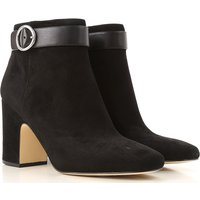 Michael Kors Boots for Women, Booties, Black, Suede leather, 2017, 3.5 4.5