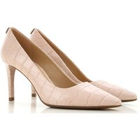 Michael Kors Pumps & High Heels for Women, soft pink, Printed Leather, 2019, 2.5 3.5