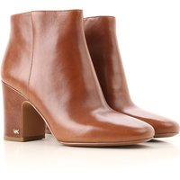 Michael Kors Boots for Women, Booties, Caramel, Leather, 2019, 3.5 4.5