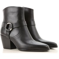 Michael Kors Boots for Women, Booties, Black, Leather, 2019, 4.5