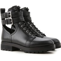 Michael Kors Boots for Women, Booties On Sale, Black, Leather, 2019, 6 6.5 7.5