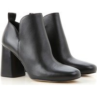 Michael Kors Boots for Women, Booties On Sale in Outlet, Black, Leather, 2019, 3.5