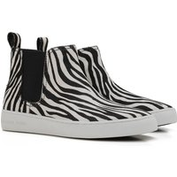 Michael Kors Boots for Women, Booties On Sale in Outlet, White, Printed Haircalf, 2017, 3.5 4 4.5
