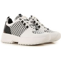 Michael Kors Sneakers for Women On Sale, White, Leather, 2019, 4.5