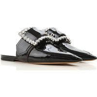 Maison Martin Margiela Sandals for Women On Sale, Black, Patent Leather, 2019, 2.5 4.5 6 7.5