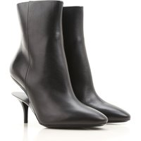 Maison Martin Margiela Boots for Women, Booties On Sale, Black, Leather, 2019, 3.5 4 4.5 5.5 6 7.5