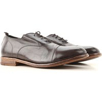 Moma Lace Up Shoes for Men Oxfords, Derbies and Brogues On Sale, Dark Brown, Leather, 2019, 6.5 8 9