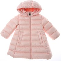 Moncler Baby Down Jacket for Girls On Sale, Pink, polyamide, 2021, 12M 18M