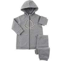 Moncler Baby Sweatshirts & Hoodies for Girls On Sale, Grey, Cotton, 2019, 12M 2Y 3Y 6M