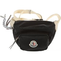 Moncler Shoulder Bag for Women On Sale, Black, polyester, 2021