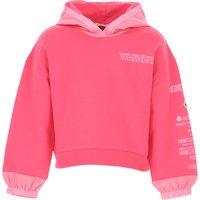 Moncler Kids Sweatshirts & Hoodies for Girls On Sale, Fuchsia, Cotton, 2019, 10Y 6Y