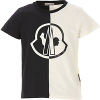 Moncler Kids T-Shirt for Boys On Sale, White, Cotton, 2019, 10Y 12Y 14Y 8Y
