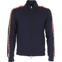 Moncler Sweatshirt for Men On Sale, Navy Blue, polyamide, 2017, L M S XL