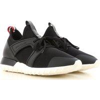 Moncler Sneakers for Men, Black, Neoprene, 2019, 7.5 8 8.5 9.5