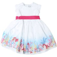 Monnalisa Baby Dress for Girls On Sale in Outlet, White, Cotton, 2021, 12M 18M