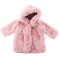Monnalisa Baby Coats for Girls On Sale, Pink, polyester, 2019, 12M 18M 9M