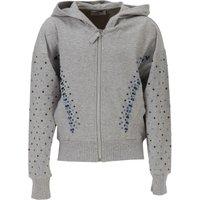 Monnalisa Kids Sweatshirts & Hoodies for Girls On Sale in Outlet, Grey, Cotton, 2017, 2Y 4Y 8Y