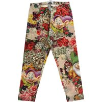 Monnalisa Kids Pants for Girls On Sale in Outlet, Grey, Cotton, 2019, 3Y 4Y