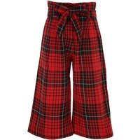 Monnalisa Kids Pants for Girls On Sale, Red, Viscose, 2019, 3Y 5Y