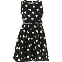 Monnalisa Girls Dress On Sale, Black, polyester, 2019, 12Y 4Y 5Y