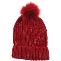 Monnalisa Kids Hats for Girls, Ruby, polyester, 2019, S M