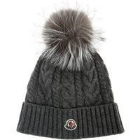 Moncler Hat for Women On Sale, Grey, Wool, 2021