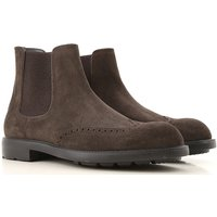 Moreschi Chelsea Boots for Men On Sale, Dark Brown, Suede leather, 2019, 10 10.5 11 6.5 7 7.5 8 8.5