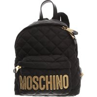 Moschino Backpack for Women On Sale, Black, Nylon, 2019