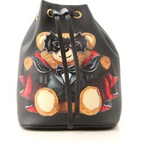 Moschino Shoulder Bag for Women On Sale, Black, Leather, 2019