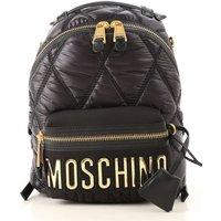 Moschino Backpack for Women On Sale, Black, Nylon, 2019