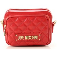 Moschino Shoulder Bag for Women On Sale, Red, polyurethane, 2019