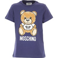 Moschino Kids T-Shirt for Boys, navy, Cotton, 2019, 10Y 14Y 4Y 6Y 8Y