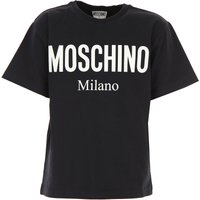 Moschino Kids T-Shirt for Boys On Sale, Black, Cotton, 2019, 4Y 8Y