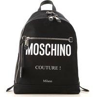 Moschino Backpack for Men, Black, Nylon, 2021