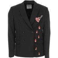 Moschino Blazer for Men, Sport Coat On Sale, Black, Virgin wool, 2019, L M S XL