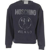 Moschino Sweatshirt for Men On Sale, Midnight, Cotton, 2019, L M XXL