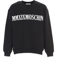 Moschino Sweatshirt for Men On Sale, Black, Cotton, 2019, L S