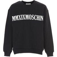 Moschino Sweatshirt for Men On Sale, Black, Cotton, 2019, L S