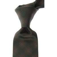 Moschino Ties On Sale, Forest Green, Silk, 2019