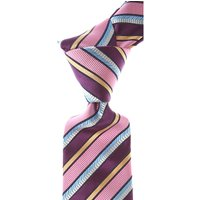 Moschino Ties On Sale, Pink, Silk, 2021