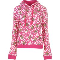 Moschino Sweatshirt for Women On Sale in Outlet, Fuchsia, Cotton, 2019, 10 12 8