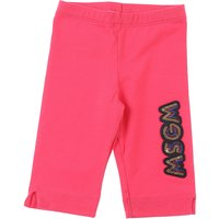 MSGM Baby Pants for Girls On Sale, fucsia, Cotton, 2019, 12M 18M 2Y 30M 9M