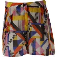 MSGM Pantalones Cortos para Niña Baratos en Rebajas Outlet, Multicolor, Seda, 2019, 12Y 14Y 6Y