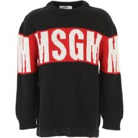 MSGM Kids Sweaters for Boys, Black, Acrylic, 2019, 10Y 14Y 4Y 6Y 8Y