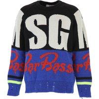 MSGM Kids Sweaters for Boys On Sale, Black, Acrylic, 2019, 10Y 12Y 8Y