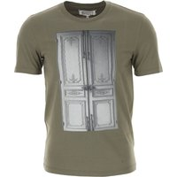 Maison Martin Margiela T-Shirt for Men On Sale in Outlet, Military Green, Cotton, 2019, S XS