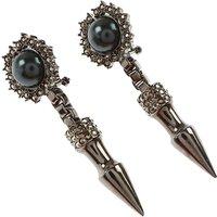 Mawi Earrings for Women On Sale, Lead, Brass, 2019