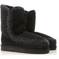 Mou Boots for Women, Booties, Black, Suede leather, 2019, EUR 36 - UK 3 - USA 5.5 EUR 37 - UK 4 - US